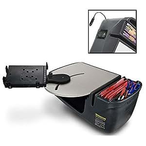 autoexec roadmaster car portable car seat desk with built in 200watt inverter and. Black Bedroom Furniture Sets. Home Design Ideas