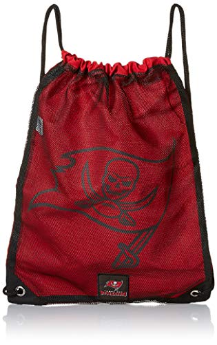 Tampa Bay Buccaneers 2014 Mesh Big Logo Print Drawstring Backpack ()