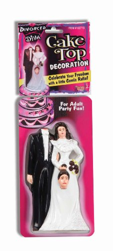 Forum Novelties Divorced Diva Cake Topper