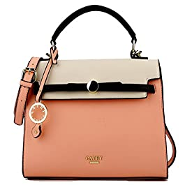 CATHY LONDON Women's Handbag (KATHY-4_Beige)