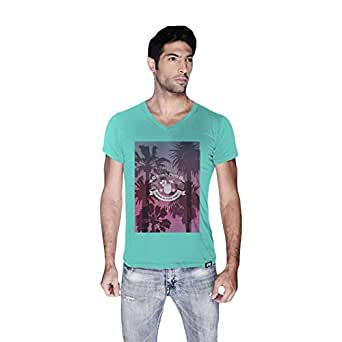 Creo Beach Party T-Shirt For Men - Xl, Green