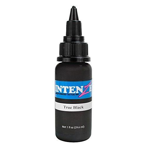(Intenze Tattoo Ink True Black 1 oz)