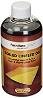 Boiled Linseed Oil for Wood Furniture & More | 8.5 oz Refined Oil | Glossy Finish for furniture, table tops, stone, cricket bats, metal
