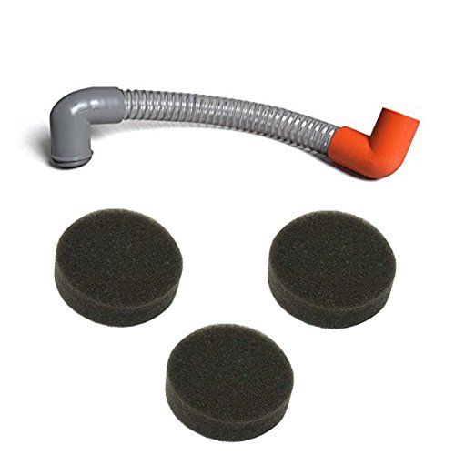 Assembly Solution Tank (Kirby Sentria Vacuum Cleaner Renovator Solution Tank To Tray Hose Assembly With 3pk Renovator Sponge Filter, Fits Kirby Sentria Vacuums.)