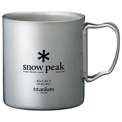 (Snow Peak Double Wall 600 Cup One Size)