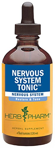 ystem Tonic Herbal Formula to Strengthen and Calm the Nervous System - 4 Ounce ()