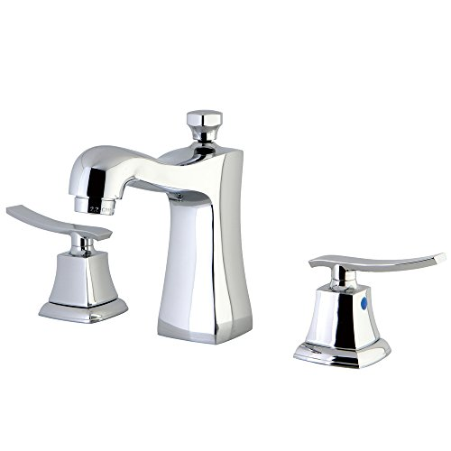 Kingston Brass KB4961JQL Queensbury Widespread Lavatory Faucet, 4-7/16