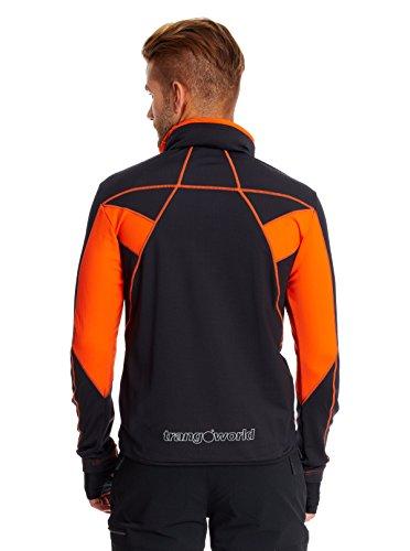 Trangoworld Giacca Tecnica Clark Nero/Arancione L