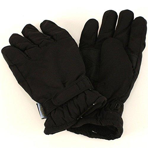 Men's Winter Thinsulate 3M Waterproof Gloves Black M/L