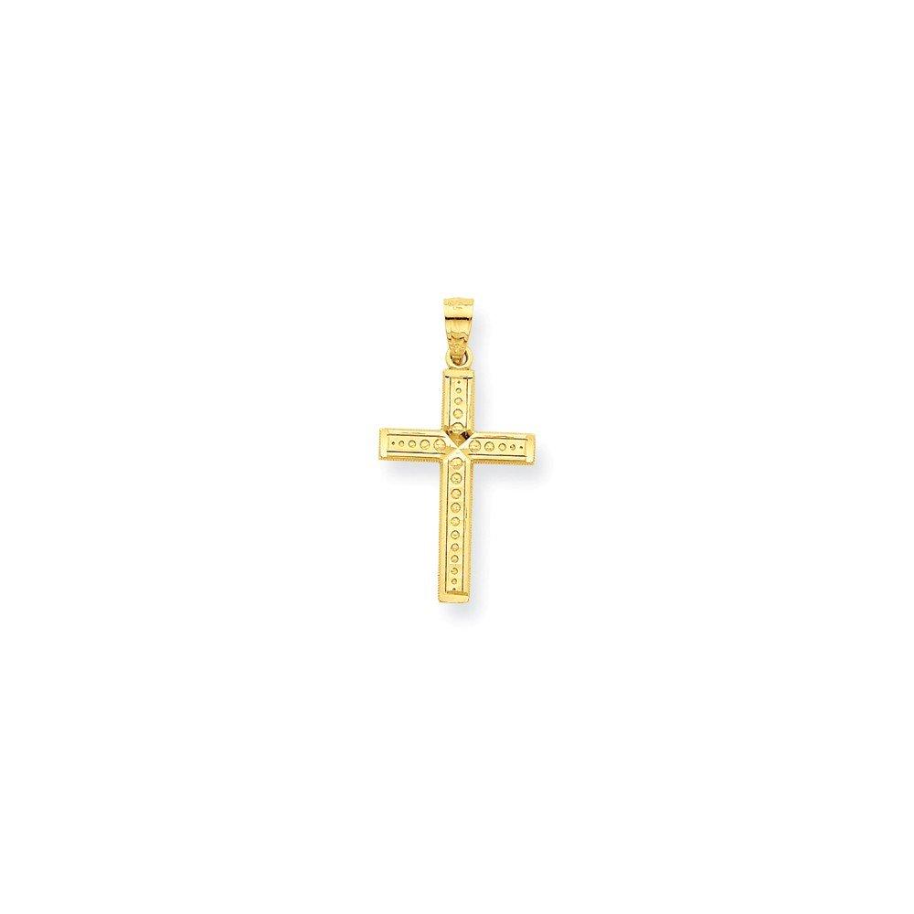 Perfect Jewelry Gift 10k Cross Pendant