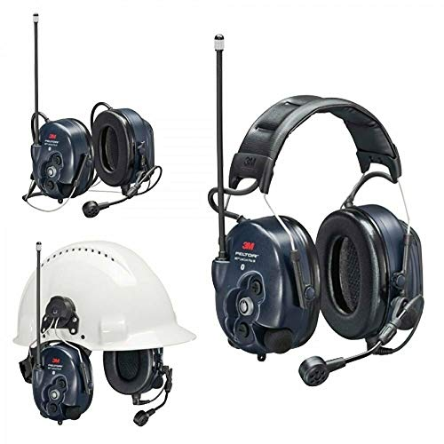 3M PELTOR WS LiteCom PRO III Headset - Hard Hat