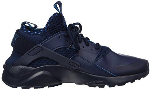 NIKE Herren Huarache Run Ultra Running Sneaker Obsidian blauer Lack