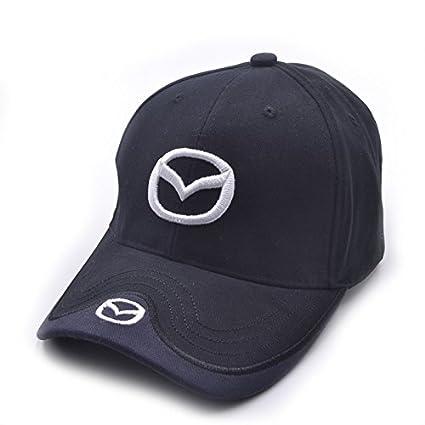 Amazon.com  monochef Auto sport Car Logo Black Baseball Cap F1 Racing Hat ( Mazda)  Automotive 665029e79ef4