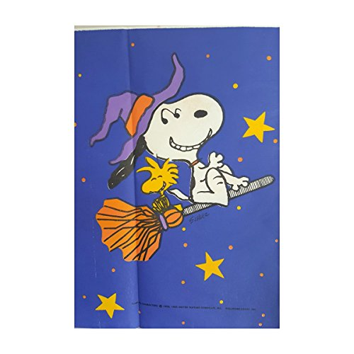 Hallmark Peanuts Snoopy & Woodstock Halloween Tablecloth - Table Cover for $<!--$24.99-->