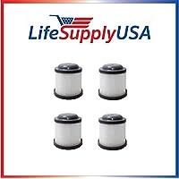 4 Filters to fit Black & Decker PVF110 Black & Decker PVF110, PHV1210, PHV1810, fits part # 90552433 90552433-01 - By LifeSupplyUSA