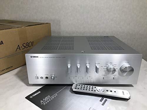 u3568 完動美品 YAMAHA ヤマハ A-S801 DAC機能搭載 プリメインアンプ 元箱/リモコン/取説付 B07NRYL29L