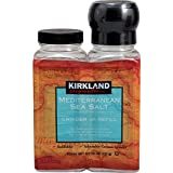 Kirkland Signature Mediterranean Sea Salt with Grinder - 2 Pack (13 oz)