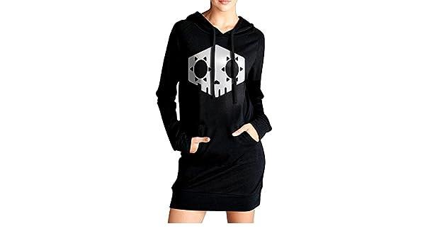 Love Kylie Jenner Womens Someone with Balls Trump Sweatshirt Dress Hoodie