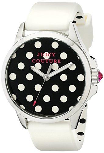 Juicy Couture Women's 1901221 Jetsetter Analog Display Quartz White Watch ()
