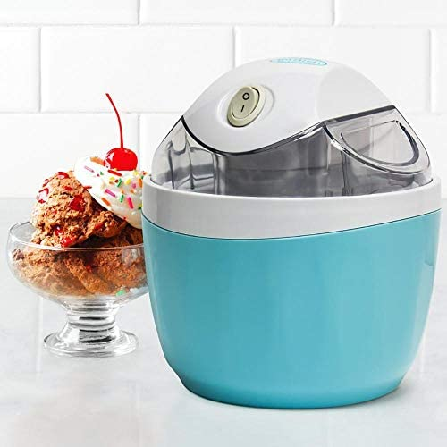Icm500blue 1-pint electric ice cream maker