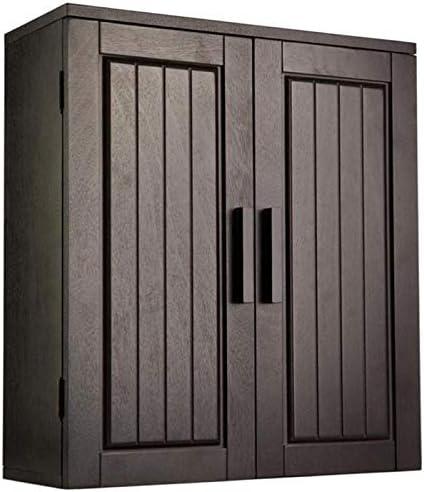 BOWERY HILL 2 Door Medicine Cabinet in Dark Espresso