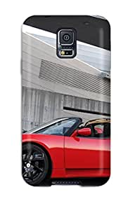 7532603K78356558 New Style Case Cover Tesla Roadster 12 Compatible With Galaxy note4 Protection Case