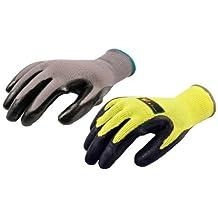 G & F 15162-15193M Contractor's Choice II Work Gloves Assortment, 2 Styles, Bulk Package, Medium, 5-Pair
