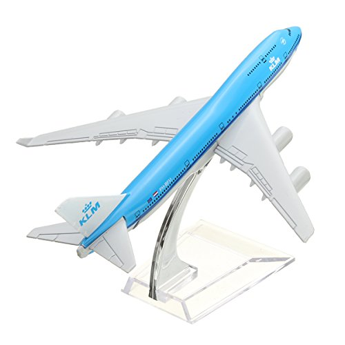 NEW 16cm Airplane Metal Plane Model Aircraft B747 KLM Aeroplane Scale Airplane Desk Toy (B757 Plane)