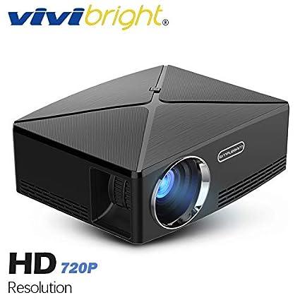 Amazon.com: LCD Projectors - HD Mini Projector C80. 1280x720 ...