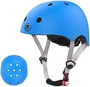 LANOVAGEAR Kids Bike Helmet for 2-14 Years Old, Toddler Youth Adjustable Skateboard Helmet, Multi-Sport Cyclin