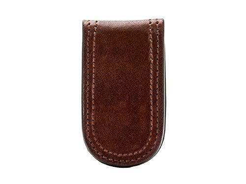 llection Money Clip (Dark Brown) (Carry On Fold Over Clutch)