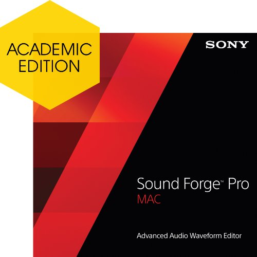 Sony Sound Forge Pro Mac 2 - Academic [Download] by Sony