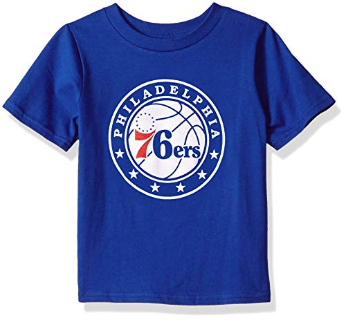 Outerstuff NBA Kids & Youth Boy's Big Primary Logo Short Sleeve Basic Tee, Royal, Youth Large(14-16)