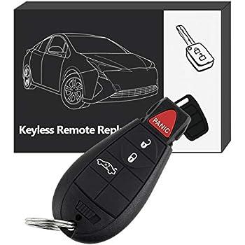 Amazon Com Oem Electronic Dodge Keyless Entry Remote Fob Fobik Fcc