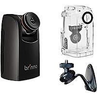 Brinno TLC200 Pro HDR Time Lapse camera, chronografie met weerbestendige behuizing en wandhouder, zwart