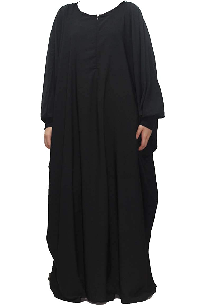 CONFECTIONSOUMK Abaya Konfektion OumK Mutterschafts Schmetterling Abaya Maxi Stillkleid und umstandskleid Vertikale Öffnung Große praktische