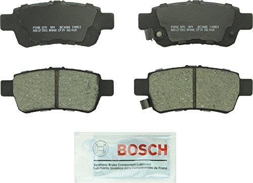 Bosch BC1088 QuietCast Premium Ceramic Rear Disc Brake Pad Set