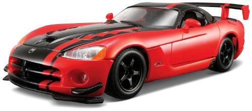 Bburago Star 1/24 Dodge Viper SRT 10 ACR: Metallic Red/Black