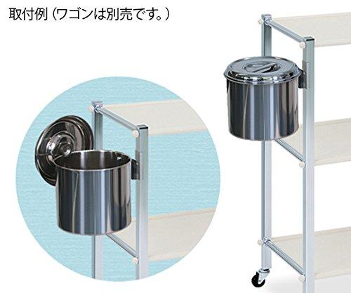 高田ベッド ワゴン用後付汚物缶 TB-1251 直径18×高さ18cm B07DNMMD65