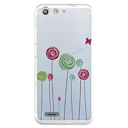 Funda Gel Flexible ZTE Blade V6 BeCool Baby on Board Flores ...