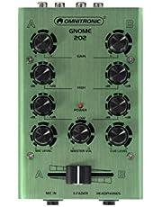 Omnitronic 10006884 Gnomo 202 Mini Mixer Green