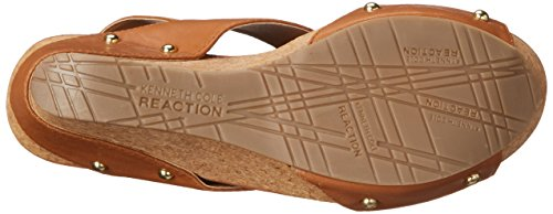 Kenneth Cole Reaction Sole-O Mujer Piel Sandalia