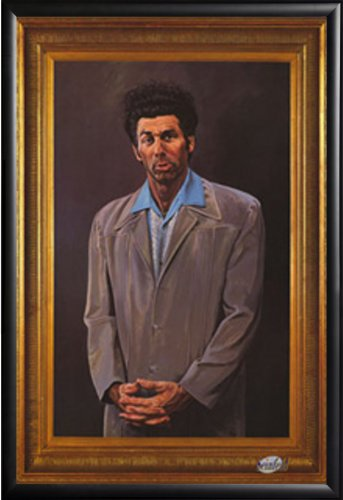 FRAMED Kramer Painting Replica 24x36 poster Dry Mounted in R