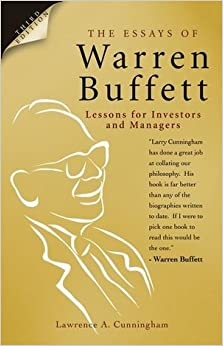 warren buffett essays amazon Can someone write me an essay the essays of warren buffett squeeze theorem homework cunningham (isbn: 9781611637588) from amazon's book store by warren buffett.