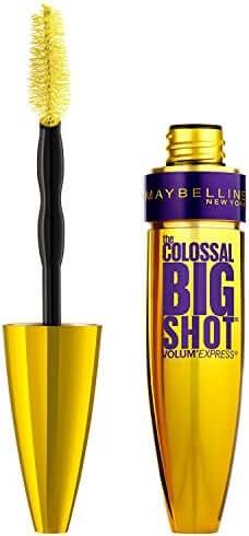 Maybelline New York Volum' Express The Colossal Big Shot Washable Mascara, Very Black, 0.33 fl. oz.