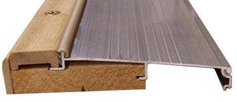 Exterior Inswing Threshold - Hardwood Cap-5 5/8'' Wide x 36'' Length- in Mill Finish
