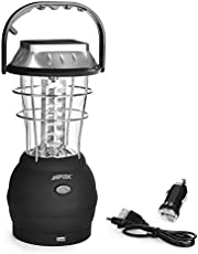 AGPTEK Portable LED Camping Lantern, Rechargeable Light,Outdoor Lamp Multi-functional Waterproof Spotlight Searchlight forTents, Hiking, Fishing.
