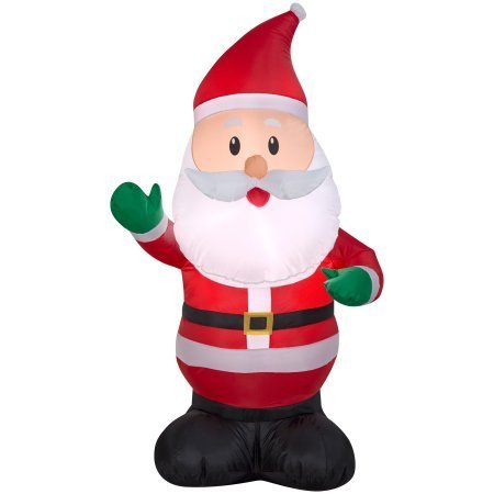 Airblown Inflatable Santa Claus 4ft Everything Included by Generic