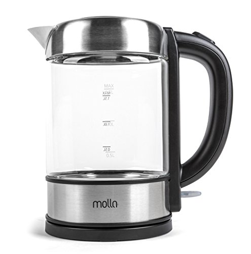 Electric Kettle Made In Germany ~ Molla púro cordless glass electric water kettle product