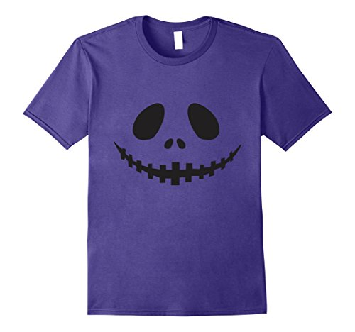 Costume Party Ideas Purple (Mens Seasonal Ts: Halloween Party Idea Costume Jack O' Lantern T- 2XL)
